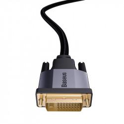 Baseus cablu adaptor bidirecțional 2m Enjoyment Series DVI la DVI