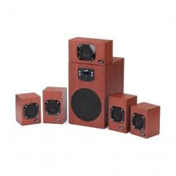 BOXE 5.1 GENIUS SW-HF5.1 4600 II Wood