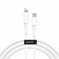 Cablu de date Baseus Type C PD / Lightning 18W QC3.0 1m white (CATLSW-02)