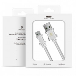Cablu de date Dux Ducis K-Max , Usb la Micro-USB, 5V , 4A , 1M , alb