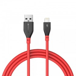 Cablu de date Lightning BlitzWolf BW-MF11 0.91m rosu