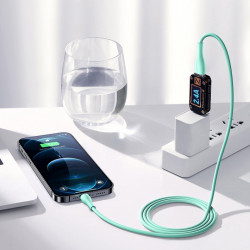 Cablu Joyroom USB - Lightning 2,4 A 1 m alb (S-1030M8)