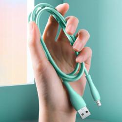 Cablu Joyroom USB - Type C 3 A 1 m negru (S-1030M8)