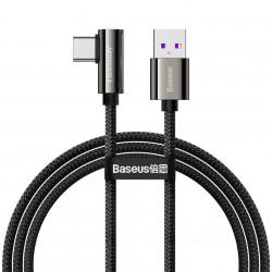 Cablu USB la USB-C Baseus Legend Series, 66W, 1m (black)