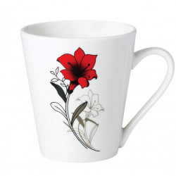CANA PORTELAN 310 ML, RED FLOWERS