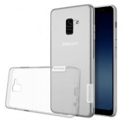 Capac Nillkin TPU Nature pentru Samsung Galaxy A8 Plus (2018) / A530F, transparent