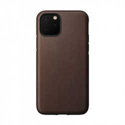Carcasa din piele naturala NOMAD Rugged iPhone 11 Pro Brown