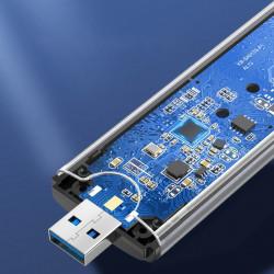 Carcasa Ugreen SSD M.2 extern, Type-C 3.2, 5 Gbps - gri