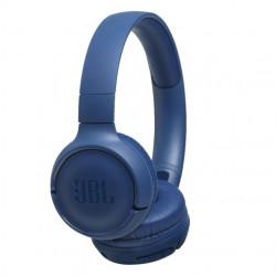 Casti audio On-ear JBL Tune 500, Wireless, Bluetooth, Pure Bass Sound, Hands-free Call, 16H, Albastru