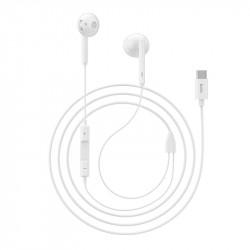 Casti In-Ear HOCO L10, Type-C, Alb