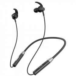 Casti Nillkin E4 Soulmate Sport Neckband Wirless Bluetooth 5.0 Earphone IPX4 water-resistance black (E4 black)