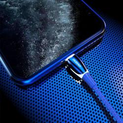 Dudao USB - Lightning 1,23m 3A cablu, gri (L7Pro gri)