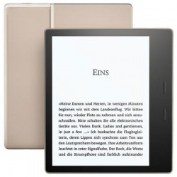 Ebook Reader Kindle Oasis e-Reader, impermeabil, ecran de 7 inch, 300 ppi, Audible, 32 GB