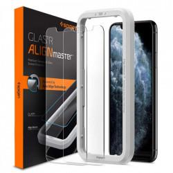 Folie protectie Spigen Alm de sticla 2x iPhone 11 Pro