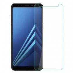 Folie sticla temperata , Gema mixt pentru Samsung Galaxy A8 2018 , transparenta