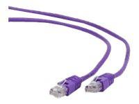 Gembird patchcord RJ45, cat.5e, UTP, 1m, purple