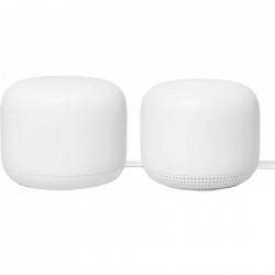 GOOGLE Router Nest Wifi and Point (2 bucati) Alb