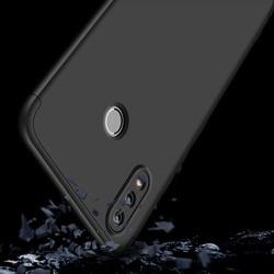 Husa 360° Matte Full Protection Gema Mixt pentru Huawei Honor 8X (fata + spate ) , negru