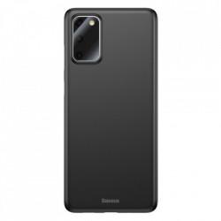Husa Baseus Wing Ultra PP subtire pentru Samsung Galaxy S20 Ultra black (WISAS20U-01)