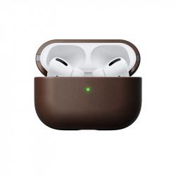 Husa casti din piele Nomad, maron- Apple AirPods Pro