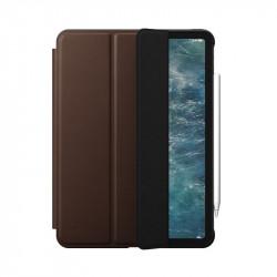 Husa iPad Air 10.9 Nomad Rugged Folio Din Piele Naturala Premium Horween - Maro