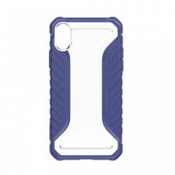 Husa protectie antisock, Baseus Michelin, pentru iPhone XS Max, albastru