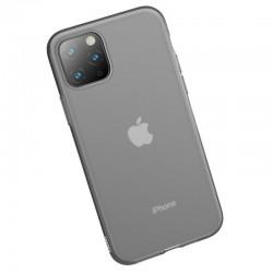 Husa telefon din gel Baseus Jelly pentru iPhone 11 Pro Max negru transparent