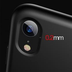 Husa telefon din silicon, Baseus Original LSR, pentru iPhone XS / X, negru