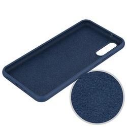 Husa telefon din silicon flexibil cu interior din material impotriva zgarieturilor , Gema Mixt pentru Huawei P20 Pro, negru