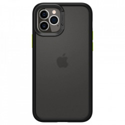Husa telefon Spigen Cyrill Color Brick pentru Iphone 12 Pro Max Black