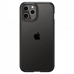 Huse telefon Spigen Ultra Hybrid pentru iPhone 12 Pro / iPhone 12 Matte Black