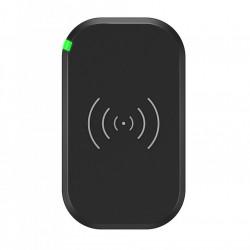 Incarcator wireless rapid Choetech cu 3 bobine de incarcare pentru telefon 10W negru (T513-S)