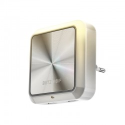 Lampa de noapte cu senzor si 2 porturi USB, BlitzWolf BW-LT14
