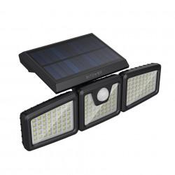 Lampa de perete cu panou solar , Blitzwolf LED BW-OLT4 cu senzor de noapte si miscare, 1800mAh