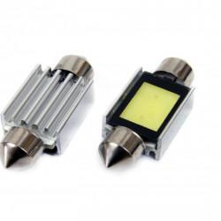 LED CANBUS COB3 Festoon 39mm White 12V