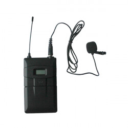 Microfon Wireless pe UHF DSPPA DSP6626A, Frecventa automata pe infrarosu,