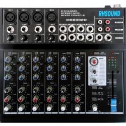 Mixer 12 canale RH SOUND MS-8002D, cu procesor de efecte