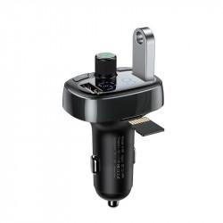 Modulator FM Bluetooth Baseus USB/microSD - negru