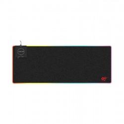 Mouse pad cu iluminare RGB 10W Havit MP902 RGB cu încărcător