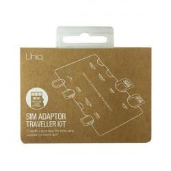 Organizator UNIQ cartele Sim/carduri de memorie - Travel Kit 7in1