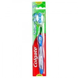 Periuta de dinti Colgate Twister, Albastru