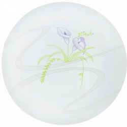 Plafoniera LED Flower fi230 13W=75W, 6500K, lumina rece