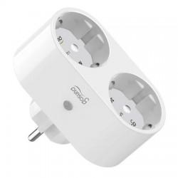 Priza inteligenta WiFi, 2 Porturi Schuko, 16A, Monitorizare Consum, Gosund SP211