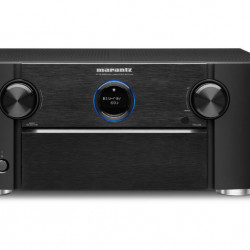 Receiver 9.2 Marantz SR7015, Ultra HD 8K, Dolby Atmos, DTS:X, Auro3D, eARC, IMAX Enhanced, HEOS, negru