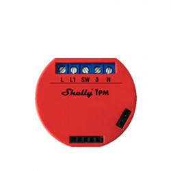 Releu inteligent Shelly 1PM cu un singur canal WiFi cu contor de putere
