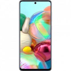 SAMSUNG Galaxy A71 Dual Sim Fizic 128GB LTE 4G Argintiu Prism Crush 8GB RAM