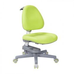 Scaun de studiu ergonomic reglabil pentru copii Ergok Rona, Verde