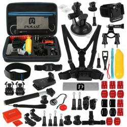 Set de 53 de accesorii Puluz pentru camerele sport PKT09