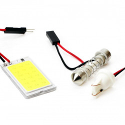 Set LED CLASSIC T10 W5W C5W 1xCOB-18 12V Light board