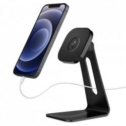Stand magnetic pentru telefon SPIGEN ONETAP MAGSAFE negru